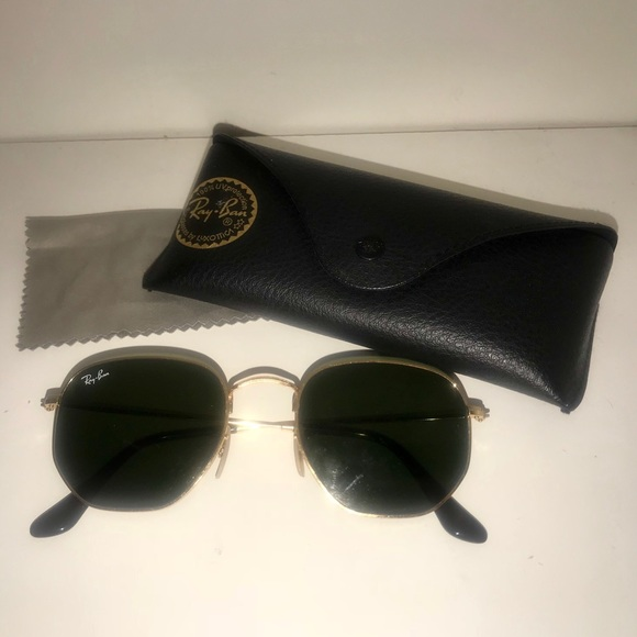 152ca8aed18 Ray-Ban Accessories - RayBan hexagonal flat lenses